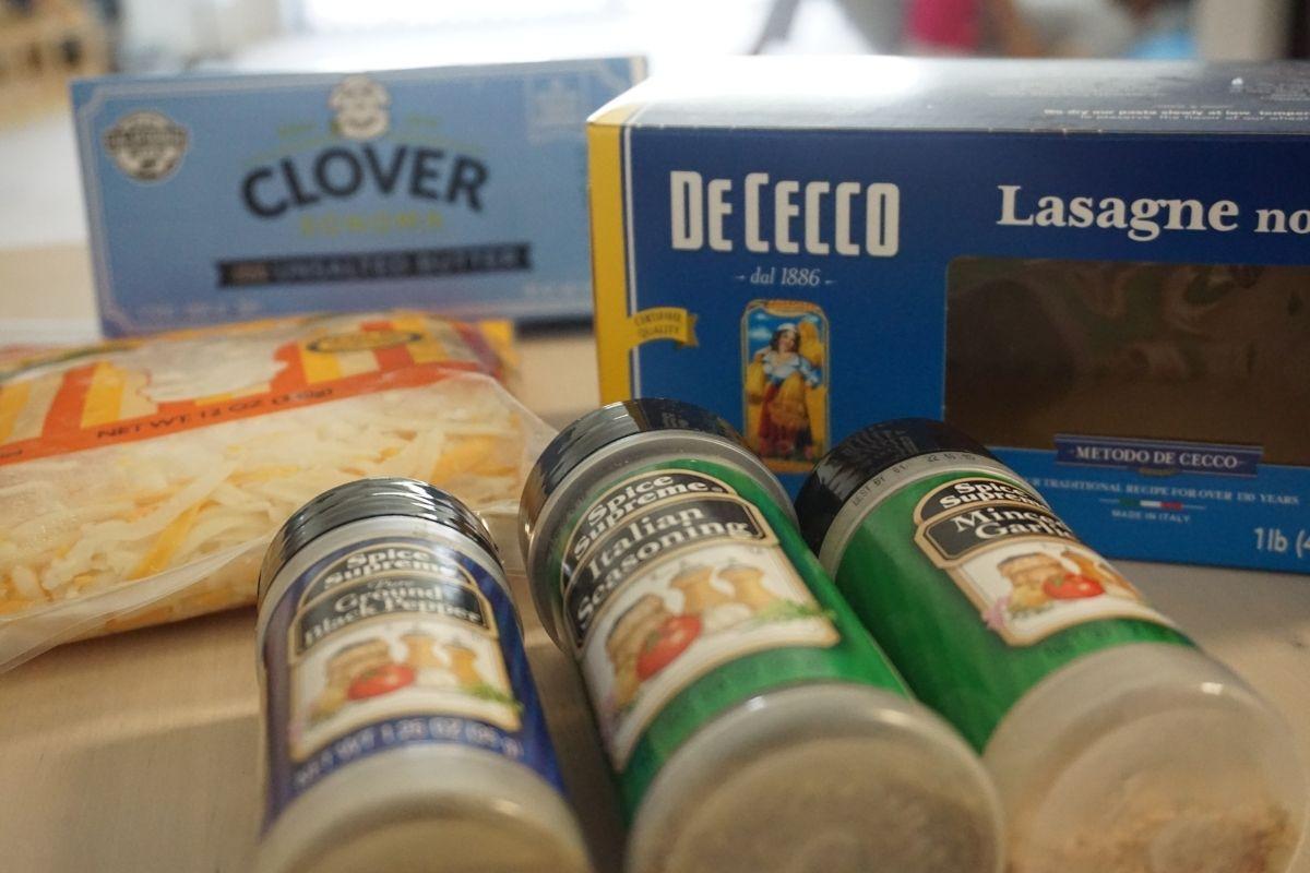 butter chicken lasagna ingredients