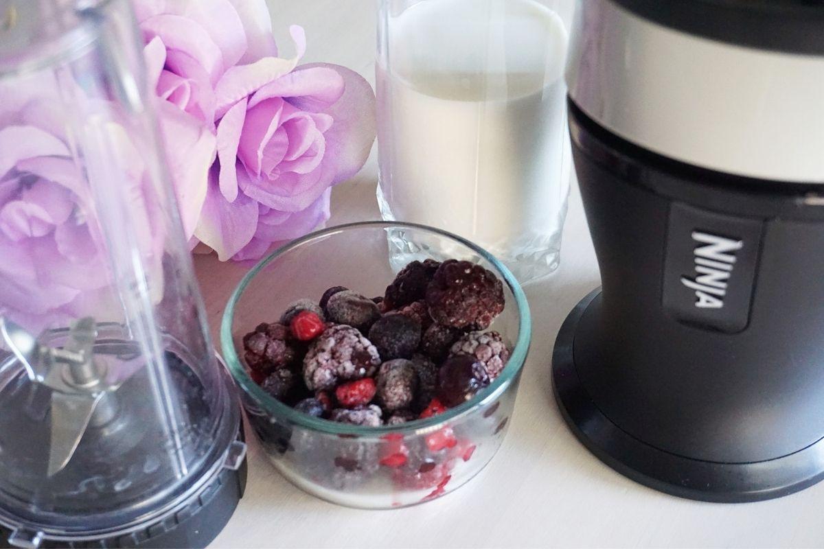 berries and blender