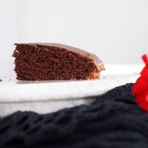 whole wheat double chocolate cake