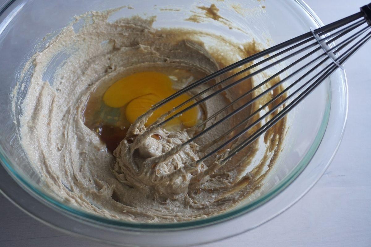 Egg Vanilla & Lemon added