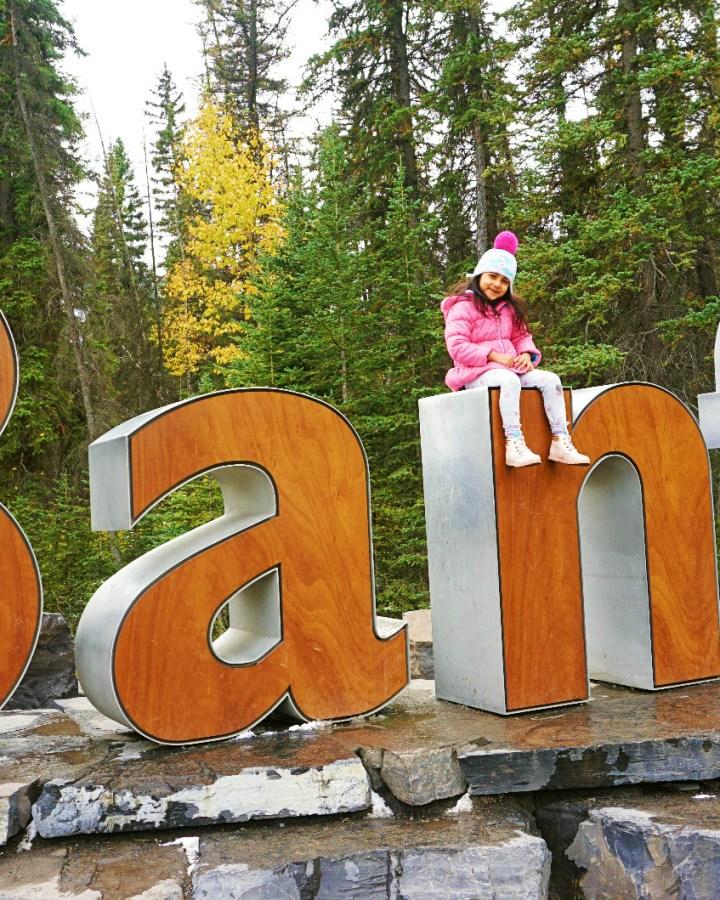 banff sign board