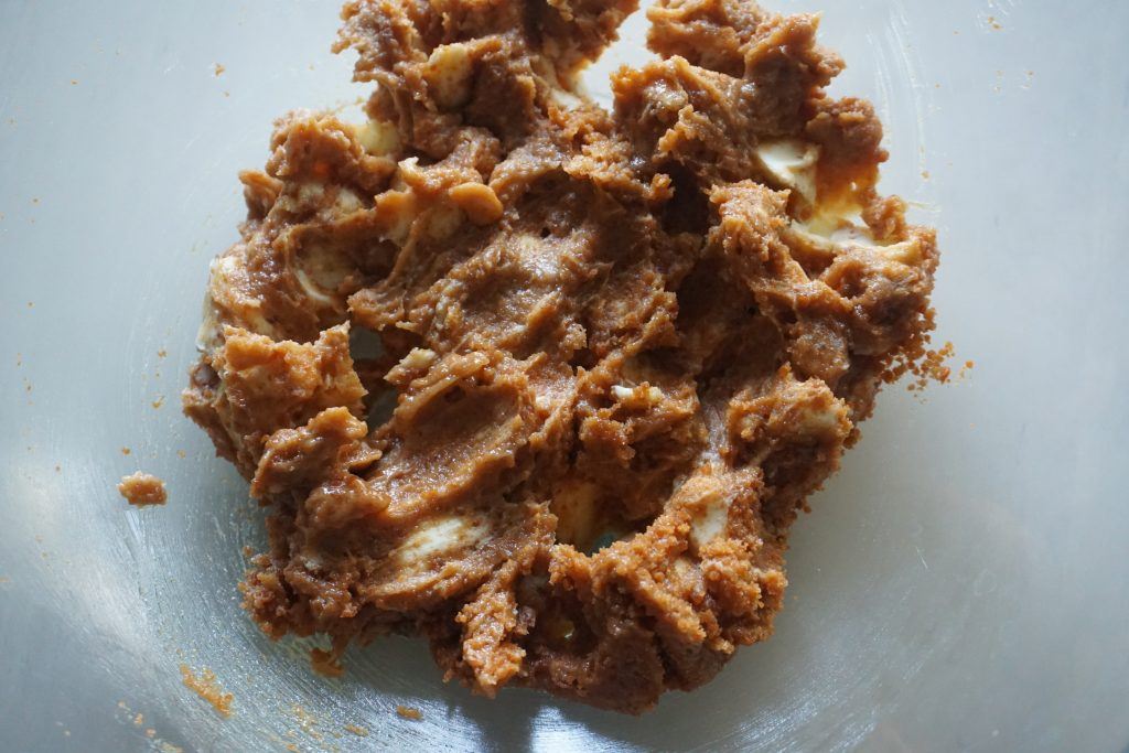 butter jaggery mixture