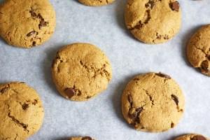 baked almond flour cookies