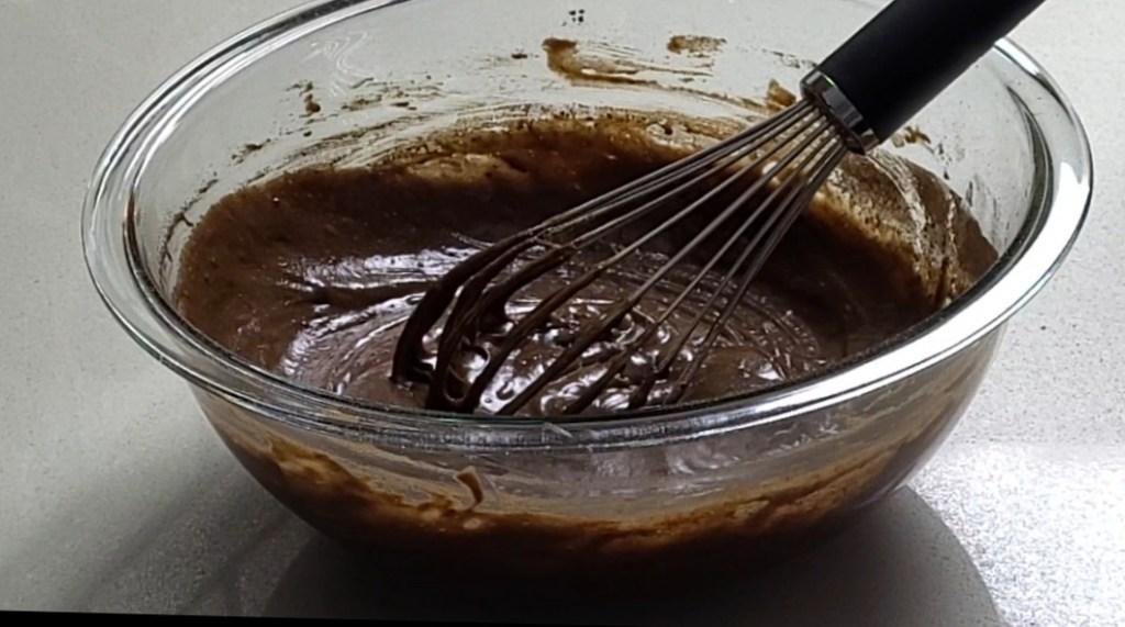 brownie batter stage 1